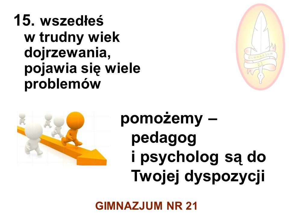 GIMNAZJUM NR 21 15.