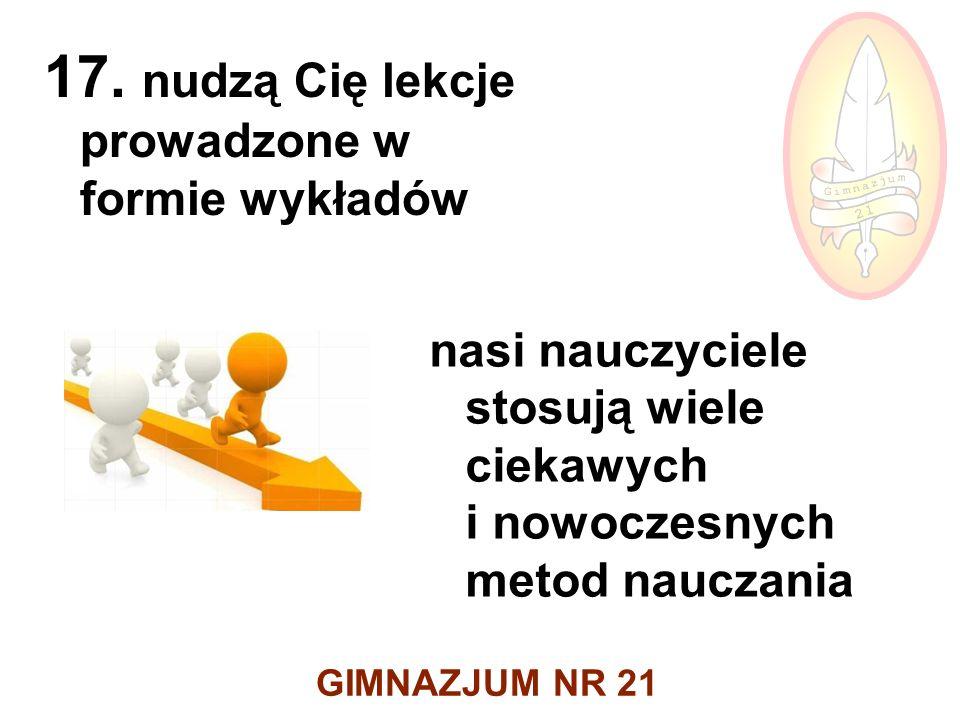 GIMNAZJUM NR 21 17.
