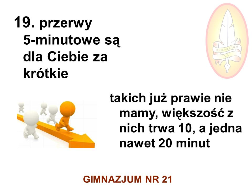 GIMNAZJUM NR 21 19.