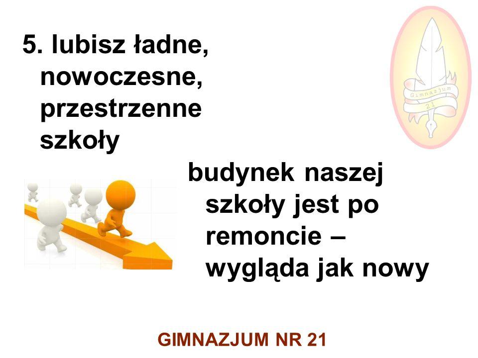 GIMNAZJUM NR 21 5.