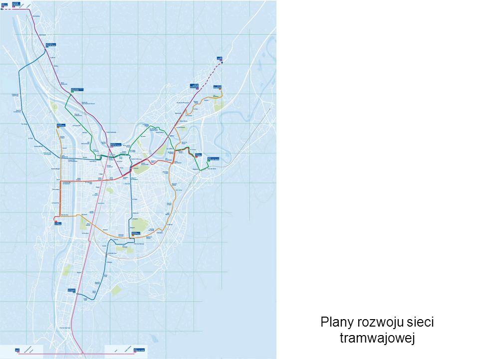 Plany rozwoju sieci tramwajowej