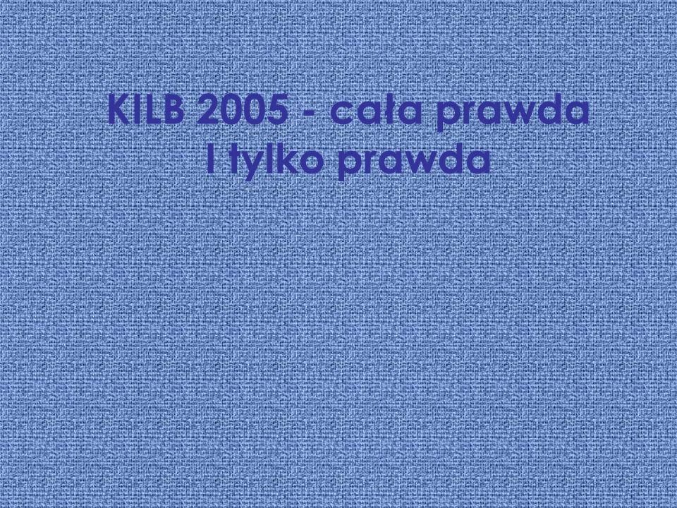 KILB 2005 - cała prawda I tylko prawda