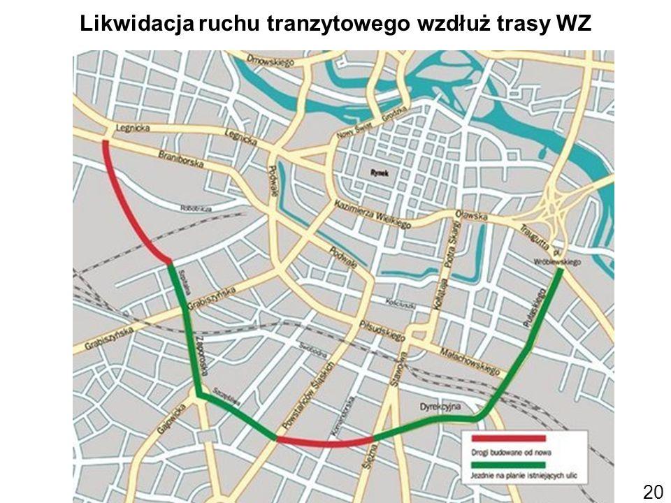 20 Likwidacja ruchu tranzytowego wzdłuż trasy WZ (Gazeta Wyborcza)