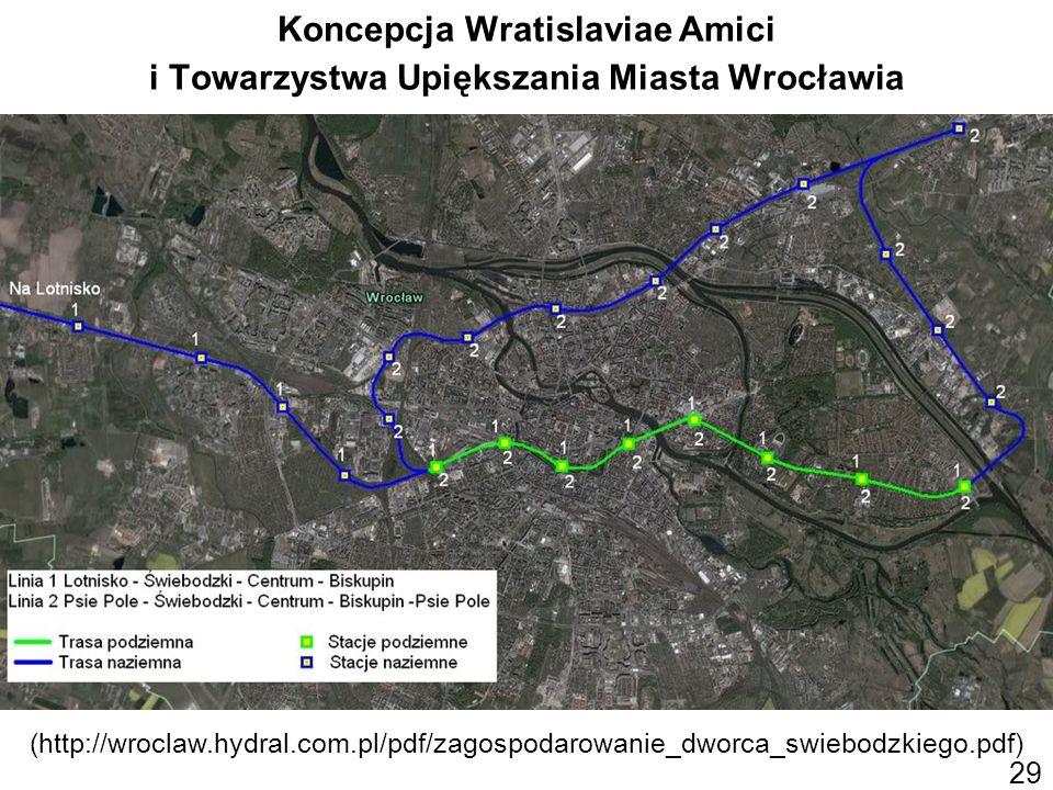 29 Koncepcja Wratislaviae Amici i Towarzystwa Upiększania Miasta Wrocławia (http://wroclaw.hydral.com.pl/pdf/zagospodarowanie_dworca_swiebodzkiego.pdf