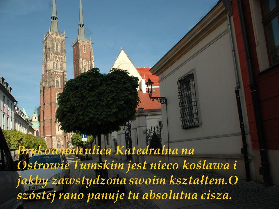 A w samym Wrocławiu jest przecież tysiące miejsc cudownych...