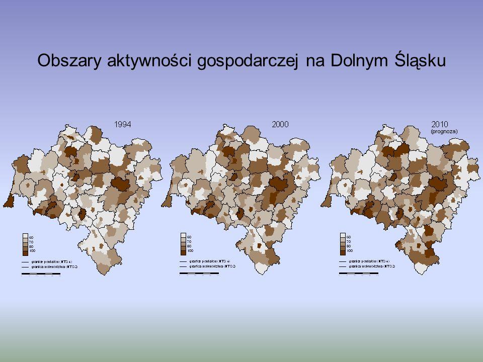 Obszary aktywności gospodarczej na Dolnym Śląsku