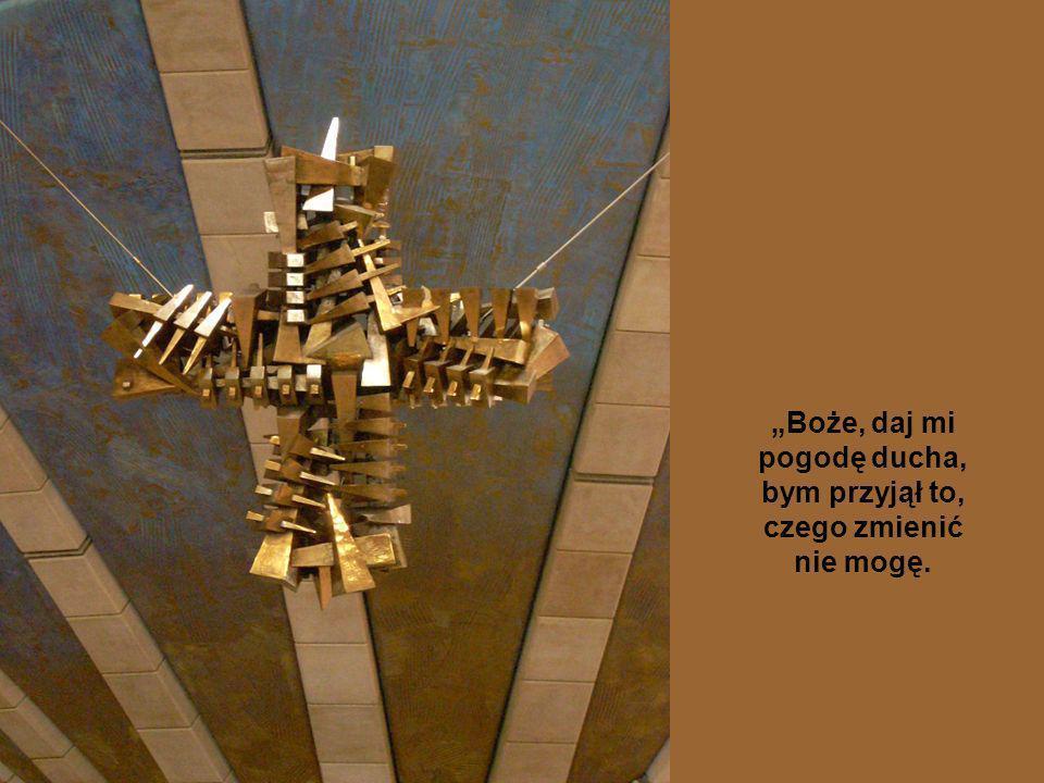 jak w Modlitwie o pogodę ducha: