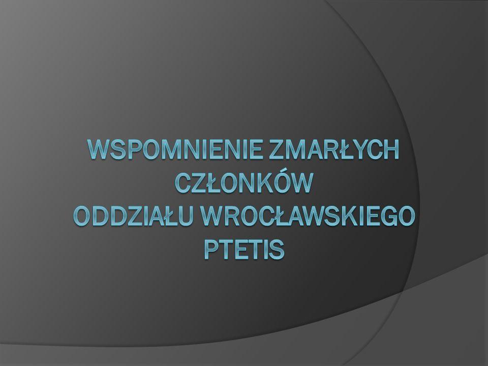 Prof. dr inż. Feliks Andrzejewski