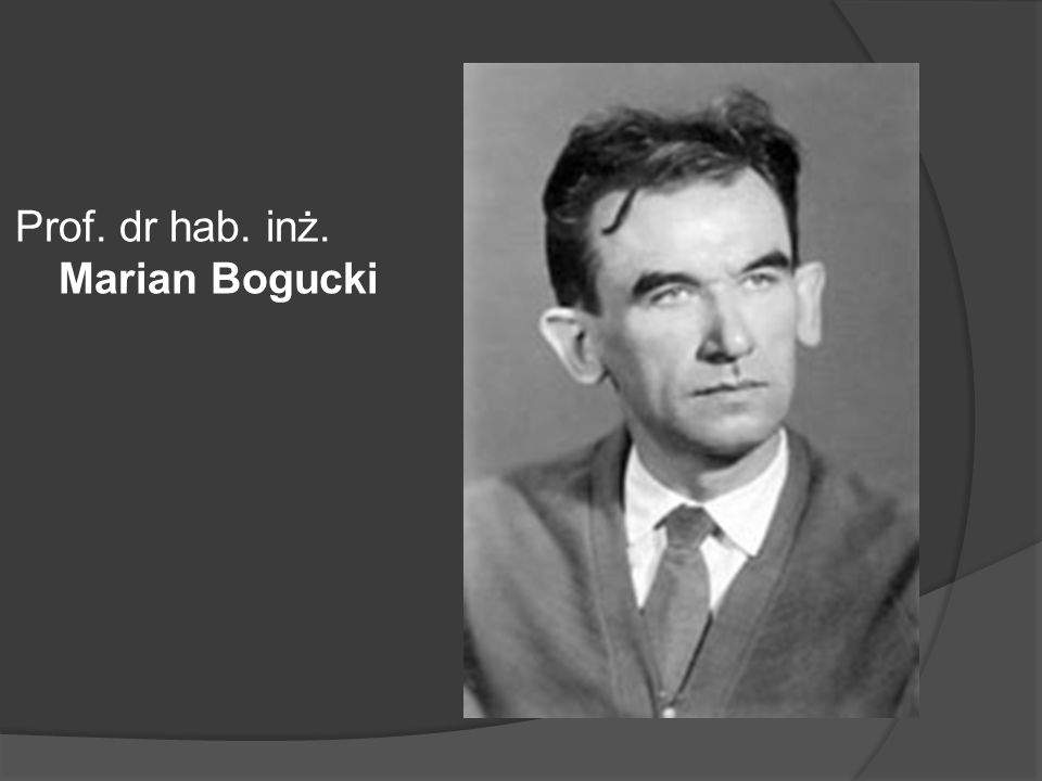 Prof. mgr inż. Roman Kurdziel