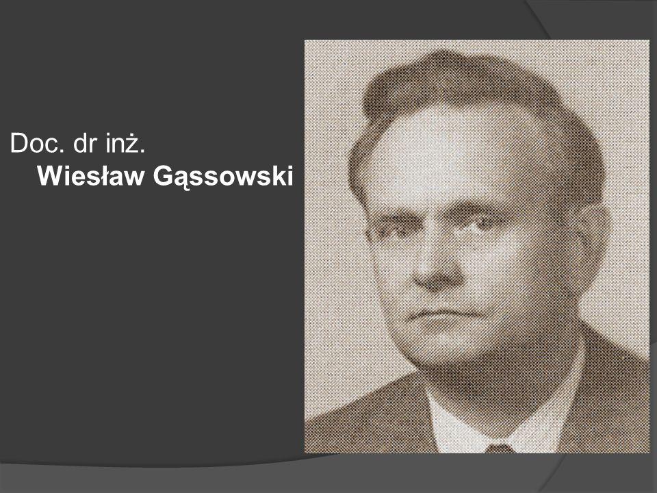 Prof. dr hab. inż. Ryszard Gotszalk