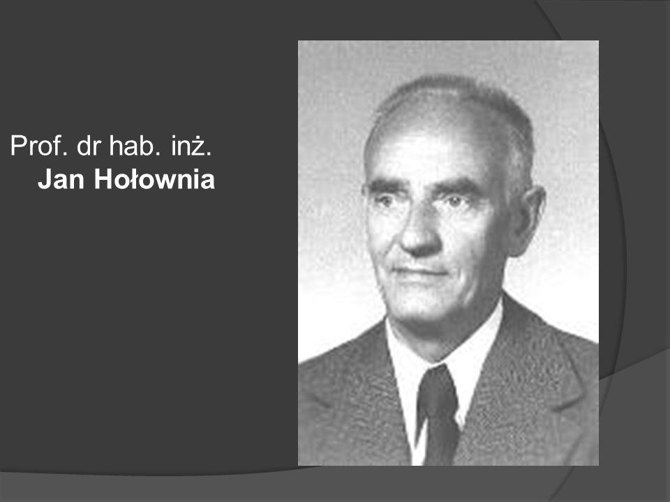 Prof. dr hab. inż. Jan Hołownia