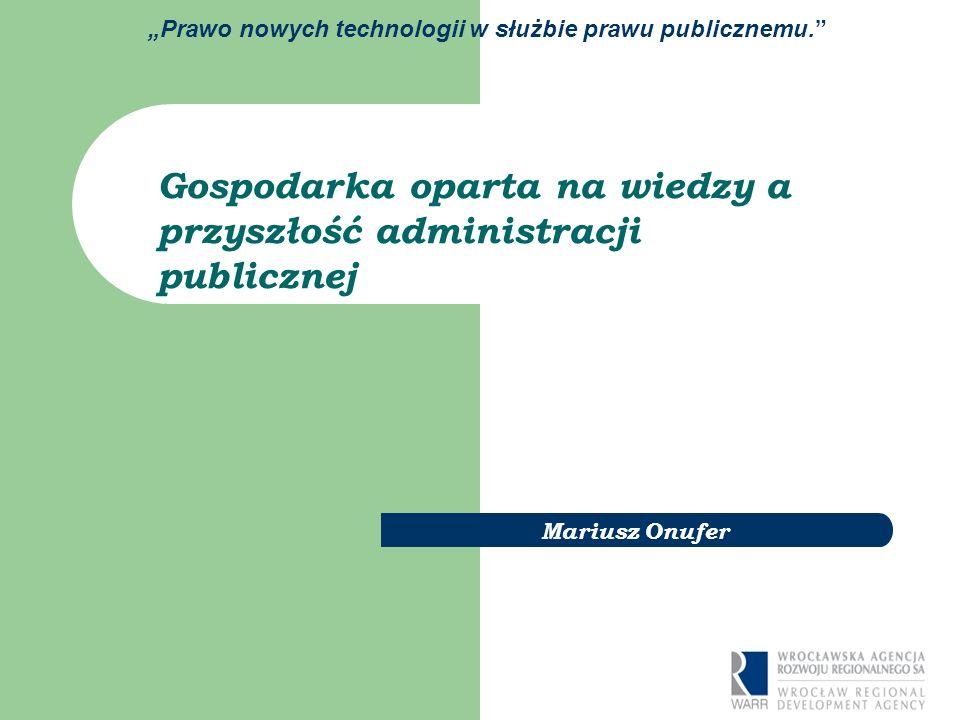 Prawo nowych technologii w służbie prawu publicznemu.