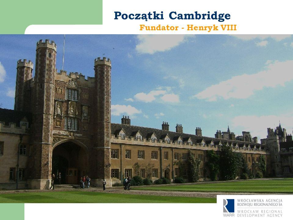 Fundator - Henryk VIII Początki Cambridge Fot. PiotrJ Langer