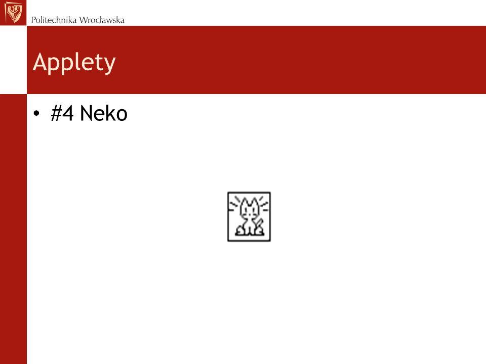Applety #4 Neko