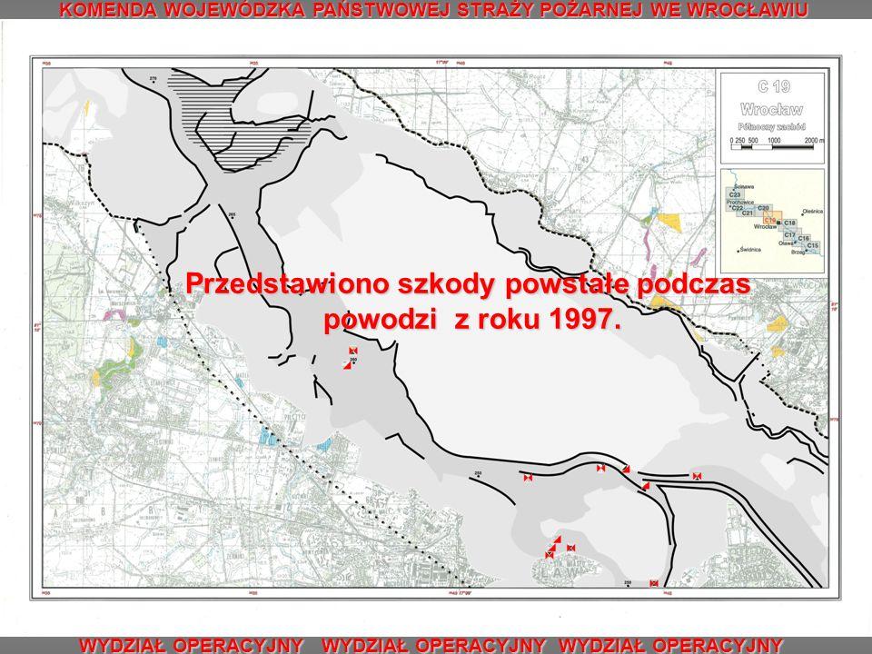 Literatura i materiały źródłowe: 1.Atlas obszarów zalewowych Odry, praca zbiorowa, WWF Deutschland, 2000 rok, arkusz: C16, C 17, C 18, C 19.