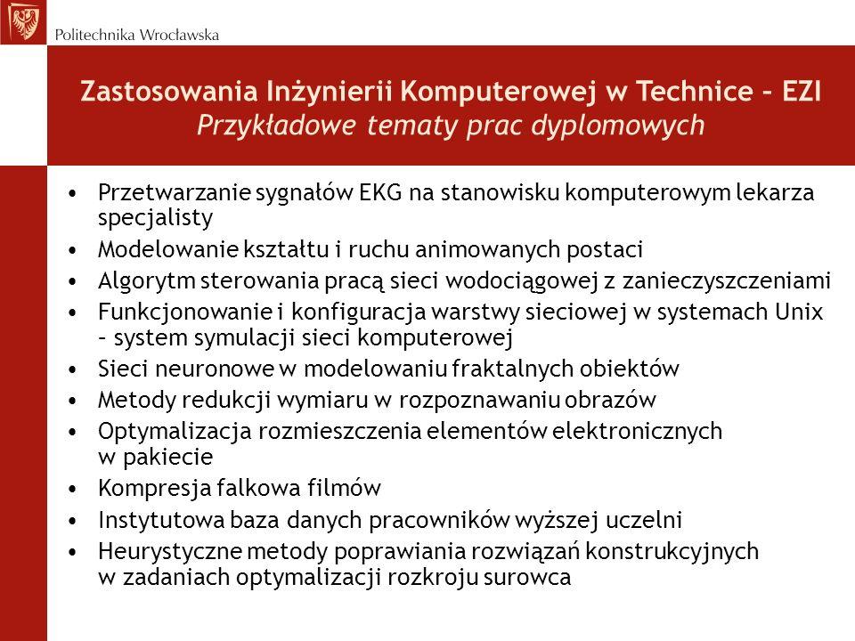 Wyniki XX Ogólnopolskiego Konkursu na najlepsze prace magisterskie z informatyki, zorganizowanego w 2003 roku przez Polskie Towarzystwo Informatyczne Rozstrzygnięto XX Ogólnopolski Konkurs PTI (…).