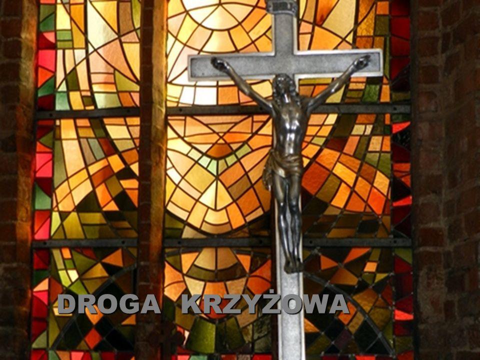 Jezus przybity do krzyża Z Chrystusem jestem przybity do krzyża.