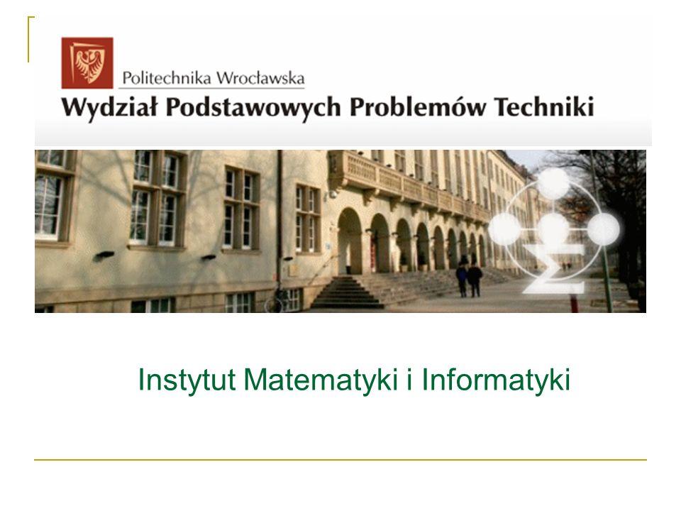 Instytut Matematyki i Informatyki