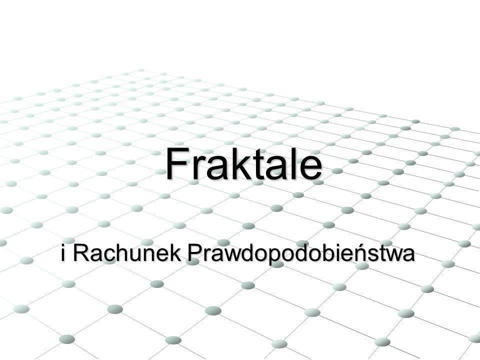 Benoit Mandelbrot Pojecie fraktala zostało wprowadzone do matematyki w latach siedemdziesiątych XX wieku przez francuskiego matematyka i informatyka polskiego pochodzenia, Benoita Mandelbrota