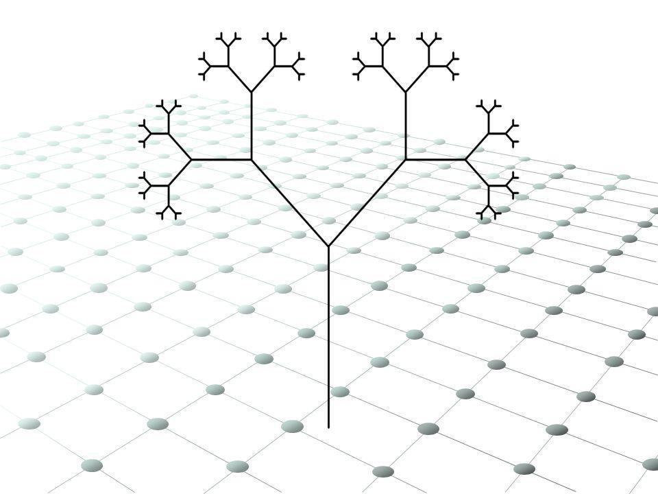 Popatrzmy na wycinek trójkąta w powiększeniu Każdy trójkątny fragment skonstruowanego zbioru, przypominający swoim kształtem jego pomniejszoną wersję, nazywamy komórką (czarny zbiór na rysunku).
