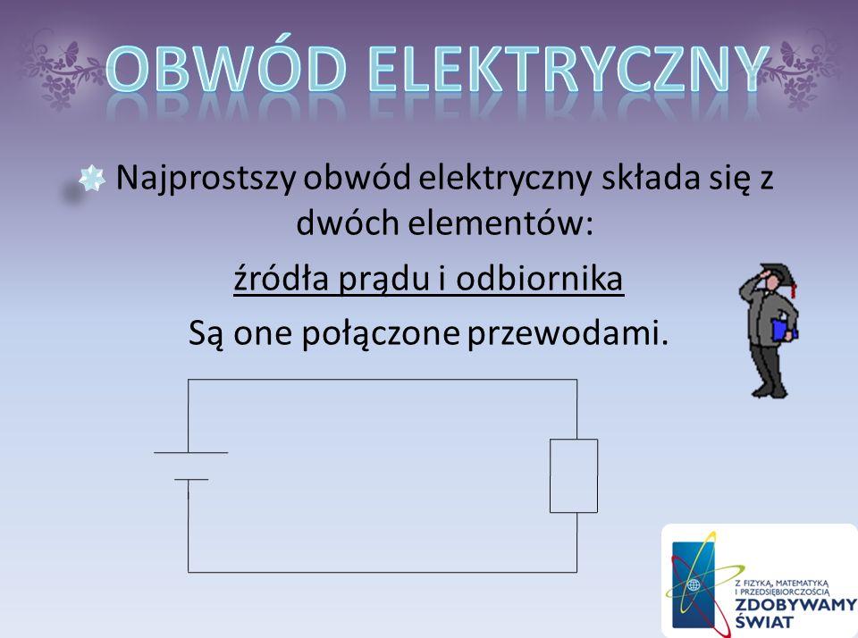 Przepływ prądu elektrycznego poznajemy po skutkach jakie on wywołuje. Skutki przepływu prądu elektrycznego to: -emisja światła -wzrost temperatury -pr