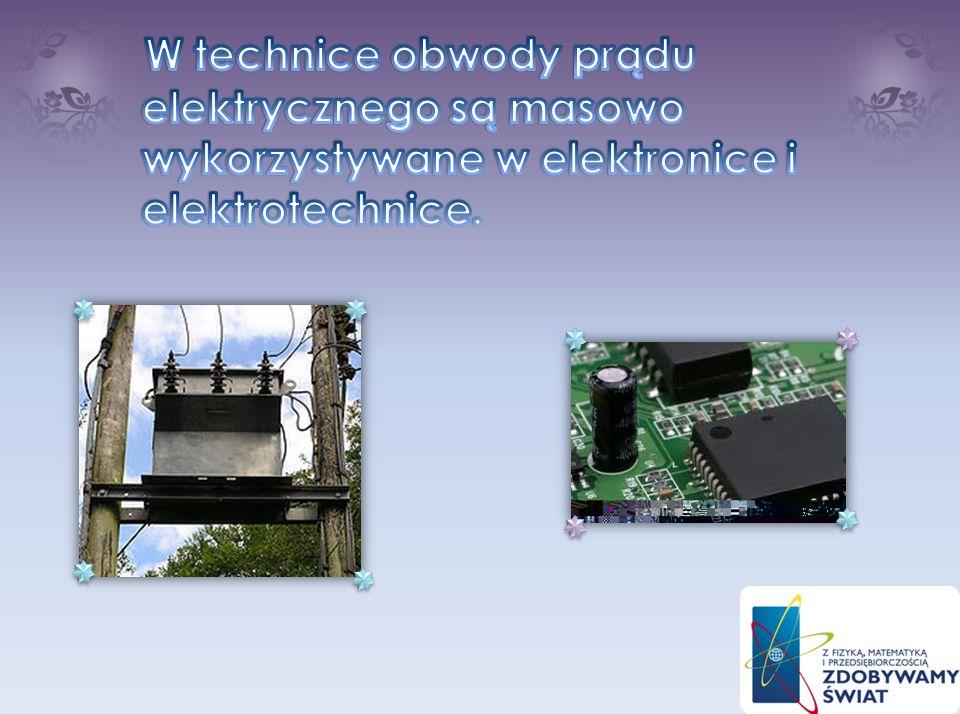 W źródle prądu energia pola elektrycznego powstaje z przekształcenia innych form energii: chemicznej, mechanicznej, świetlnej. Odbiornikiem może być d