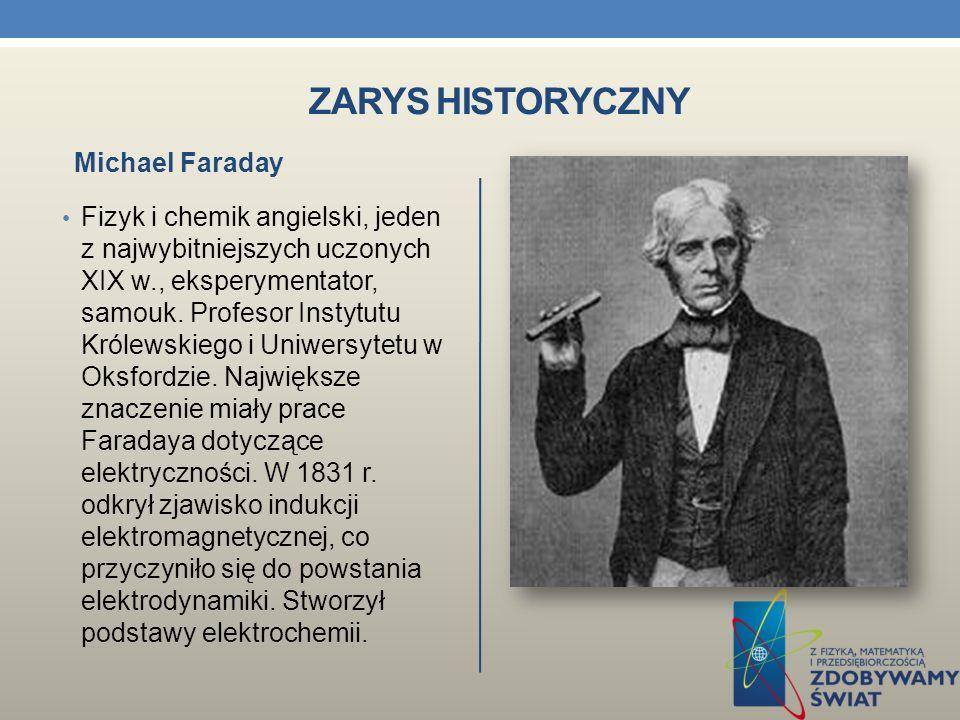 ZARYS HISTORYCZNY Luigi Galvani ( 1737 – 1798) zauważył związek elektryczności z ruchami mięśni udowych preparowanej żaby, a Alessandro Volta ( 1745 – 1827) zbudował pierwszy stos ( baterie).