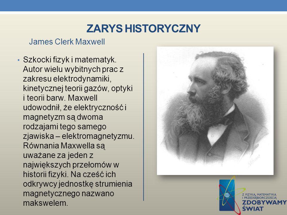 ZARYS HISTORYCZNY Fizyk i chemik angielski, jeden z najwybitniejszych uczonych XIX w., eksperymentator, samouk. Profesor Instytutu Królewskiego i Uniw
