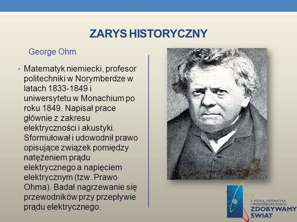 ZARYS HISTORYCZNY Szkocki fizyk i matematyk.
