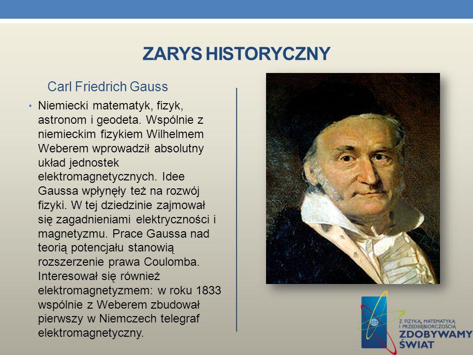 ZARYS HISTORYCZNY Francuski fizyk i matematyk, zajmował się badaniem zjawiska elektromagnetyzmu.