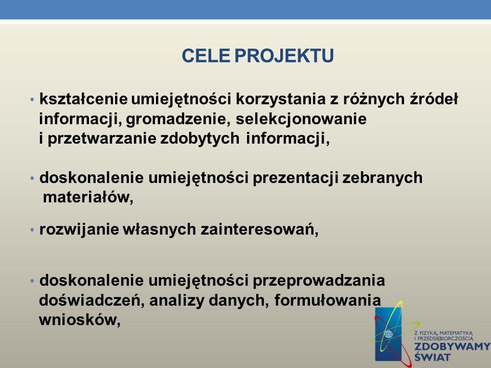 DANE INFORMACYJNE Nazwa szkoły: Gimnazjum nr 5 im. Tadeusza Kościuszki w Pile ID grupy: 98/27_mf_g2 Kompetencja: Matematyczno - fizyczna Temat projekt