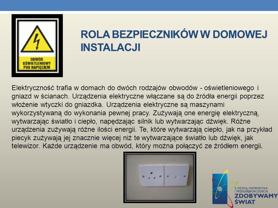 URZĄDZENIA Urządzenie elektryczne jest maszyną wykorzystywaną do wykonania pewnej pracy.