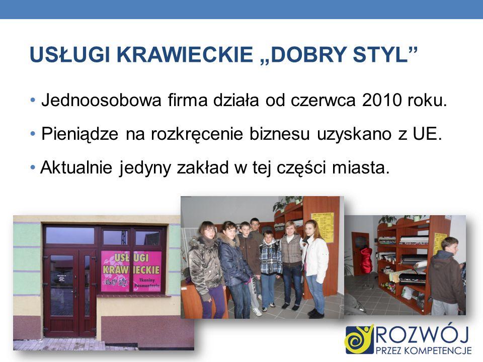 KWIACIARNIA RÓŻA Biznes już piętnastoletni (rodzinny) – założony przez Mieczysława Andrzejewskiego.