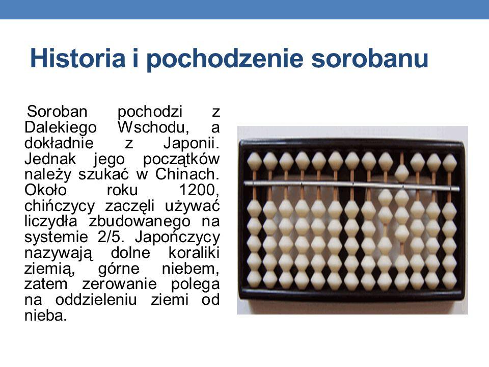 Historia i pochodzenie sorobanu Soroban pochodzi z Dalekiego Wschodu, a dokładnie z Japonii.