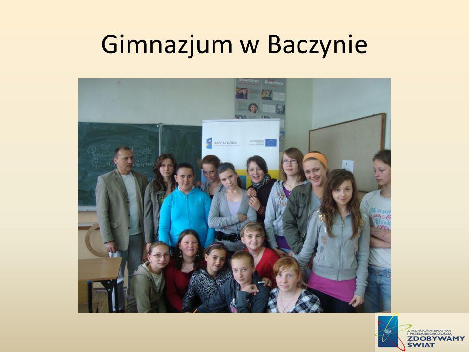 Gimnazjum w Baczynie