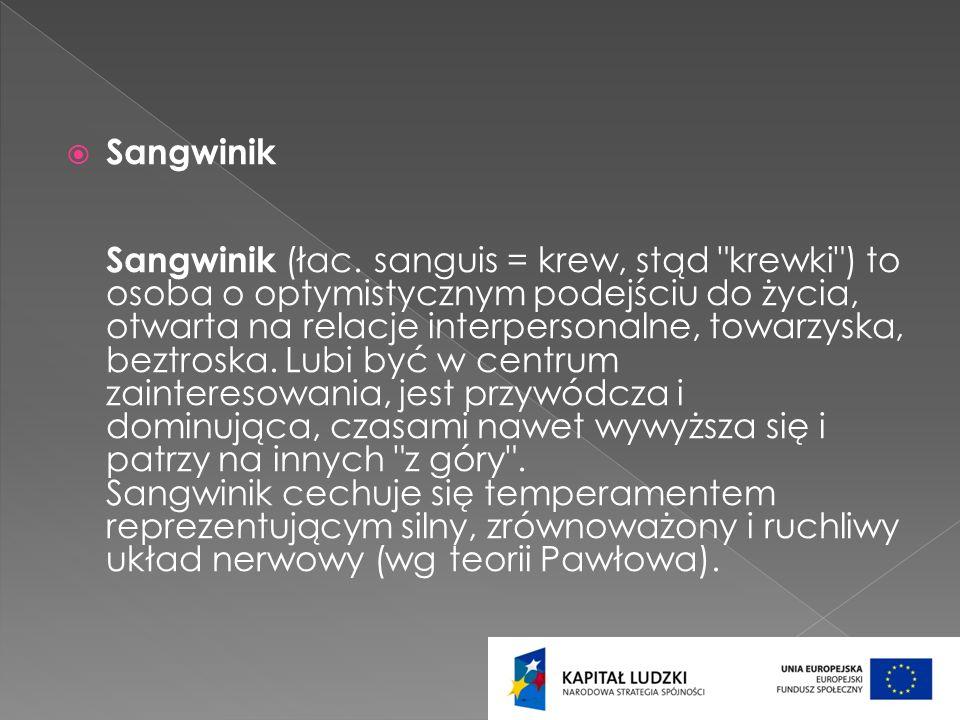 Sangwinik Sangwinik (łac.