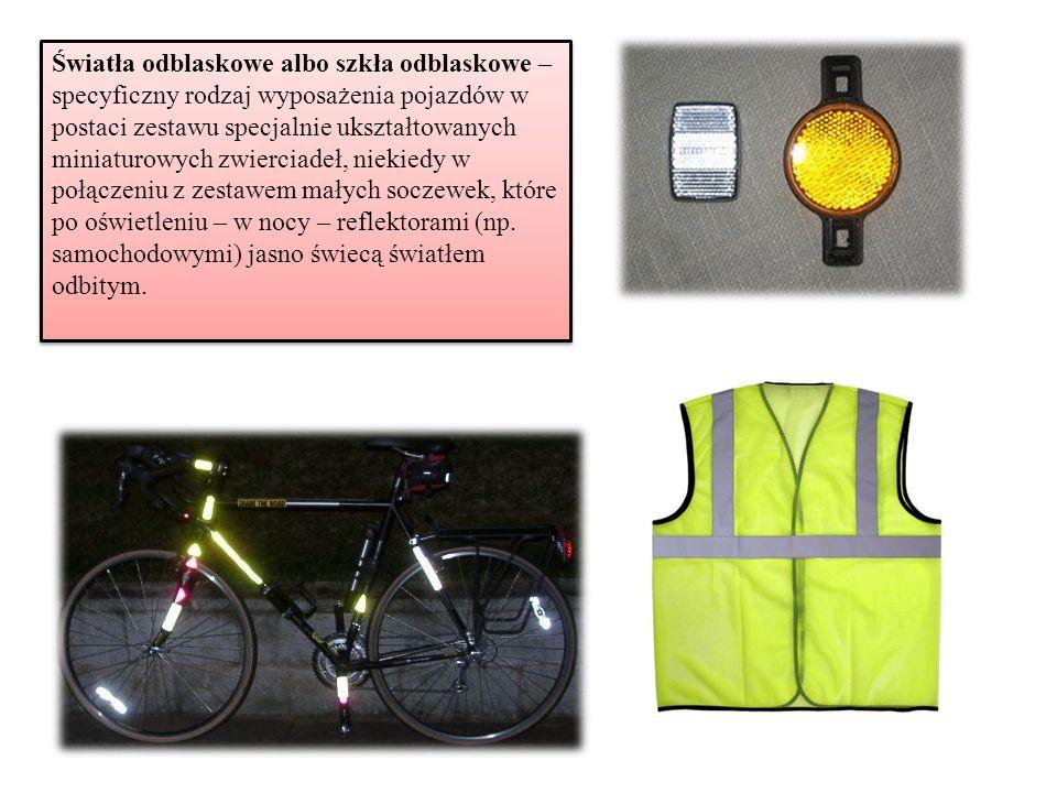 Światła odblaskowe albo szkła odblaskowe – specyficzny rodzaj wyposażenia pojazdów w postaci zestawu specjalnie ukształtowanych miniaturowych zwiercia