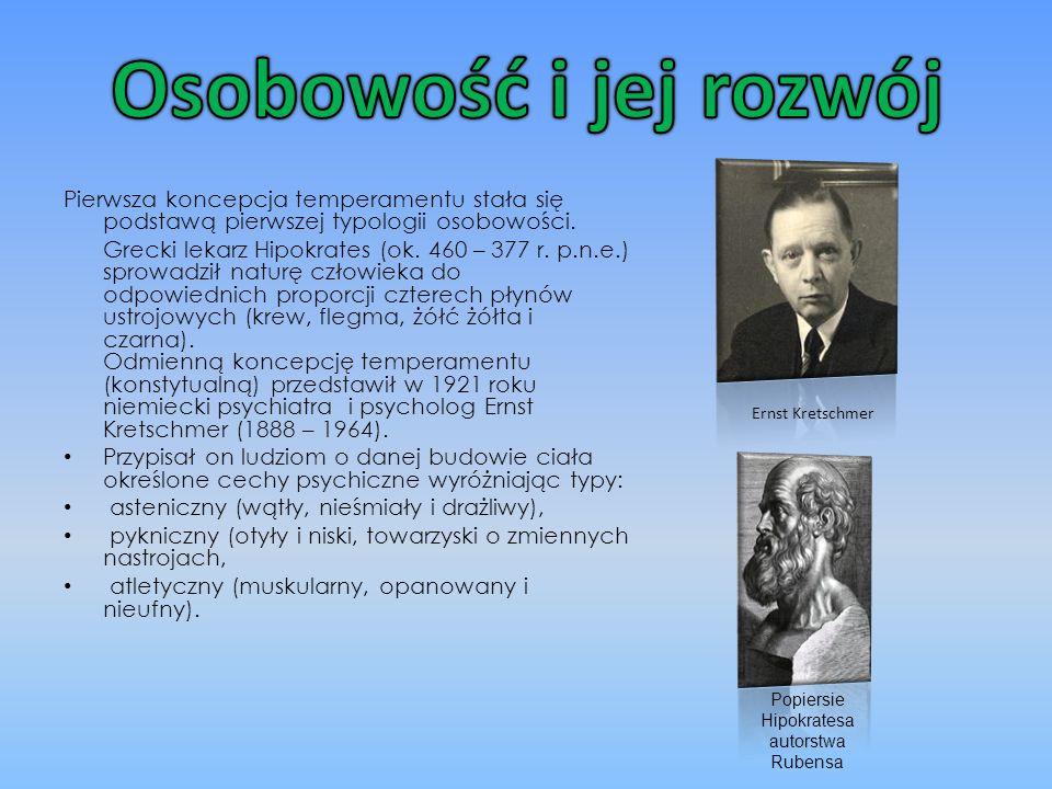 Odmienną koncepcję psychologiczną przedstawił szwajcarski psycholog Carl Gustaw Jung (1875 – 1961).