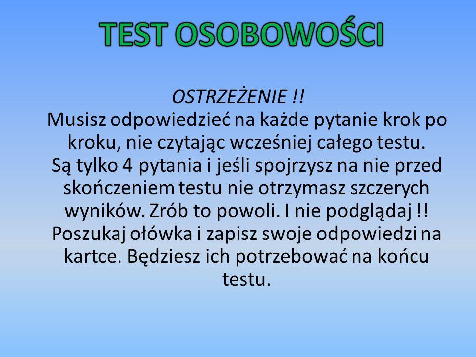 OSTRZEŻENIE !.