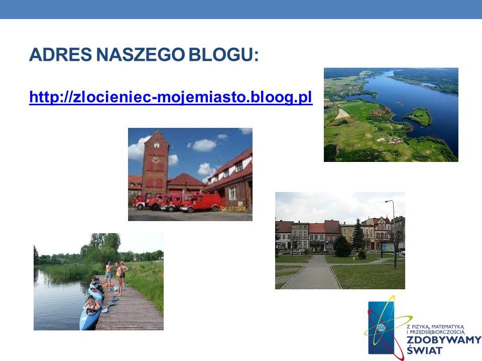 ADRES NASZEGO BLOGU: http://zlocieniec-mojemiasto.bloog.pl