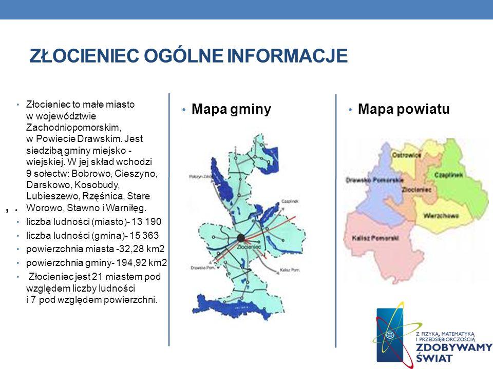 Złocieniec to małe miasto w województwie Zachodniopomorskim, w Powiecie Drawskim. Jest siedzibą gminy miejsko - wiejskiej. W jej skład wchodzi 9 sołec