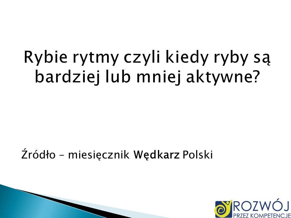 Źródło – miesięcznik Wędkarz Polski