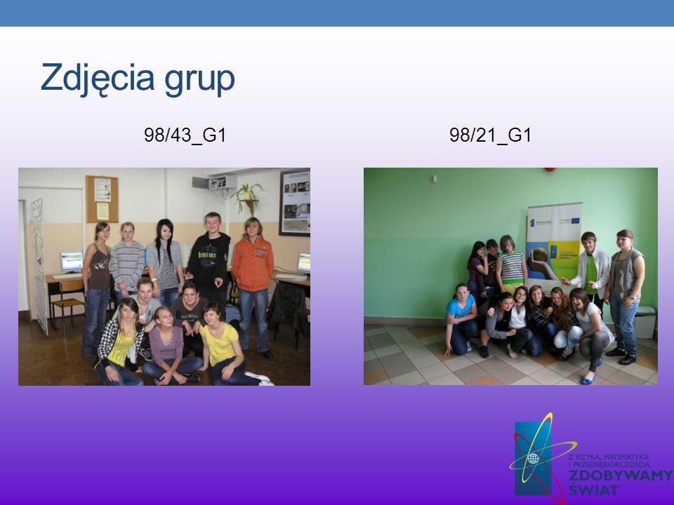Zdjęcia grup 98/43_G198/21_G1