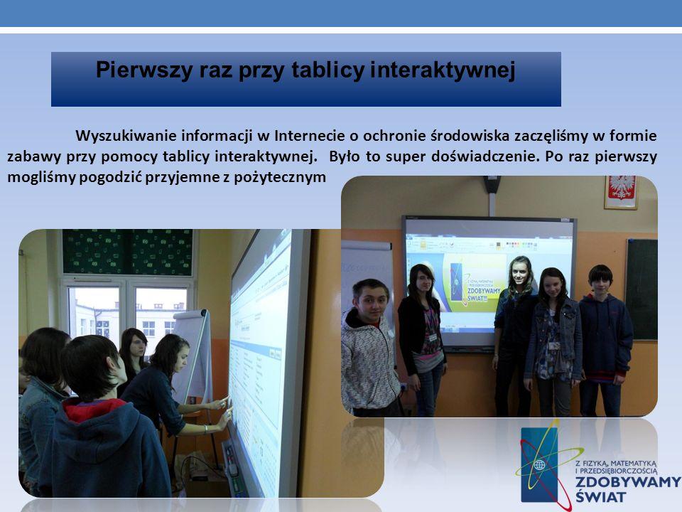 Prezentacja ekofilmiku dla naszej szkoły Na korytarzu naszej szkoły zorganizowaliśmy małe przedstawienie naszego filmiku.