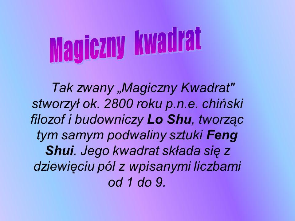 Tak zwany Magiczny Kwadrat