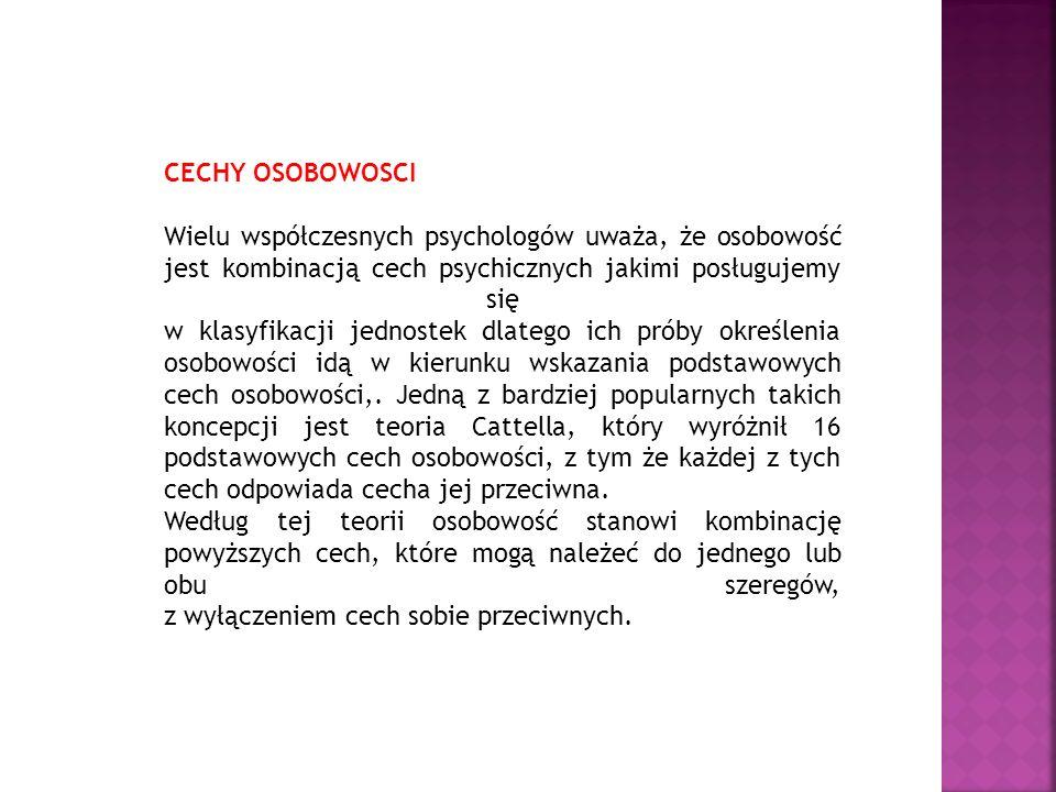 Przydatne linki http://www.samodoskonalenie.info.pl/ http://www.newtrader.pl/Cechy-osobowosci-czlowieka- przedsiebiorczego,pp_1,2.php http://www.ithink.pl/artykuly/styl-zycia/inne/komponenty- tajemniczej-mikstury-osobowosci-czlowieka/ http://www.adulteducation.yoyo.pl/Erikson%20Jung%202.pdf