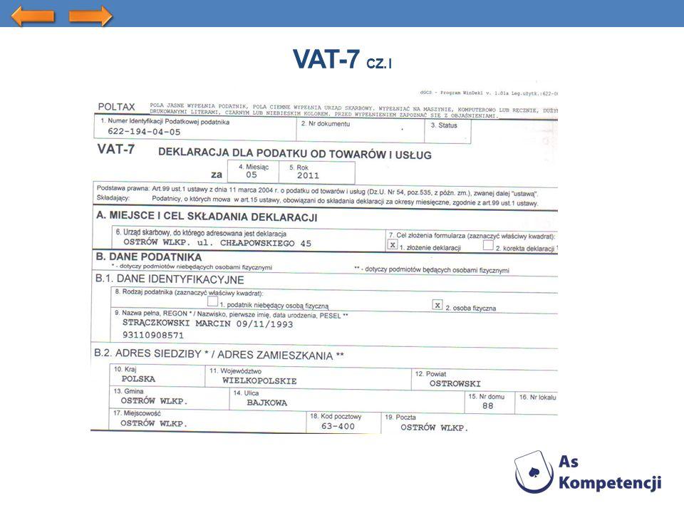 VAT-7 CZ. I