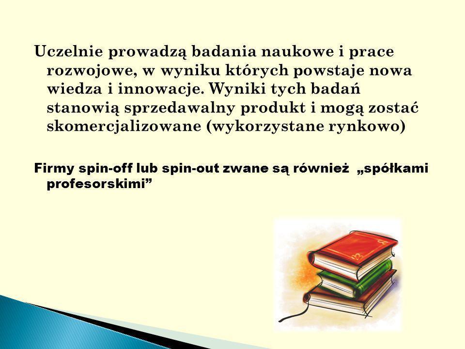 Uczelnie prowadzą badania naukowe i prace rozwojowe, w wyniku których powstaje nowa wiedza i innowacje.