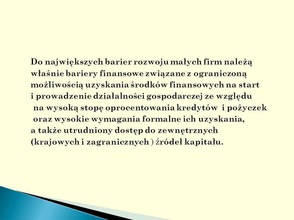 Banki, inwestorzy i aniołowie biznesu generalnie są otwarci na propozycje wsparcia oraz prowadzenia działalności gospodarczej, jednak z silnym poczuciem kierunku zarządzania i z dobrym zespołem.