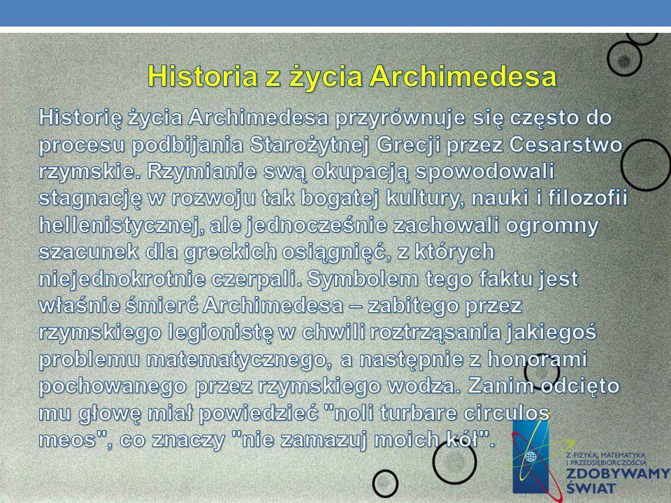 PRAWO ARCHIMEDESA – SIŁA WYPORU